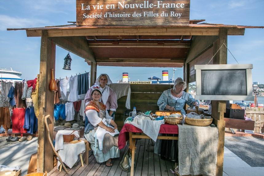 Les Fêtes de la Nouvelle-France: Ici, l'histoire se joue