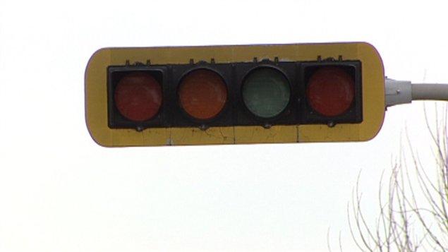 Un feu de circulation défectueux à Beauport