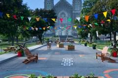 Nouvelle place éphémère à Beauport: le Parvis Royal vous attend