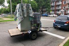 Une journée du déménagement qui n'a pas été de tout repos à Québec