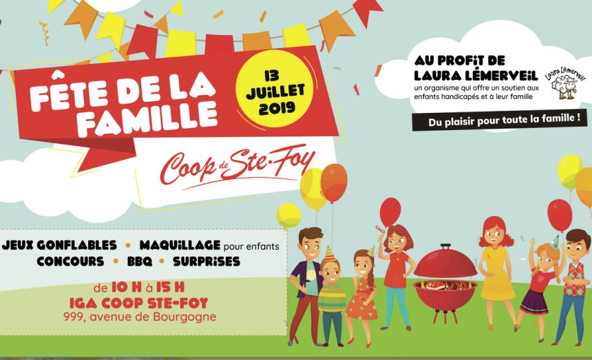 Première Fête de famille pour la Coopérative des consommateurs de Sainte-Foy