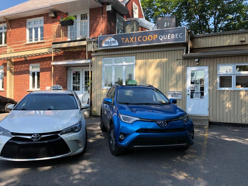 Taxi Québec et Taxi Charlesbourg s'unissent