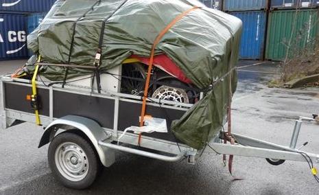 Opération de sécurité routière visant les déménagements