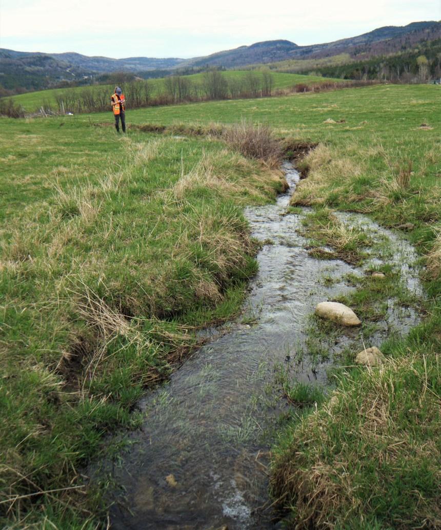 Important projet de cartographie des cours d'eau