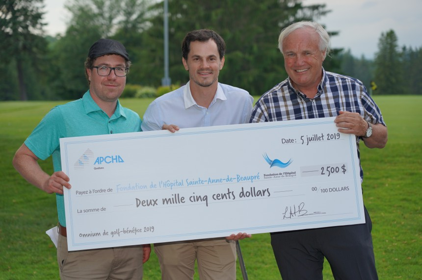 3e Omnium de golf-bénéfice de l'APCHQ