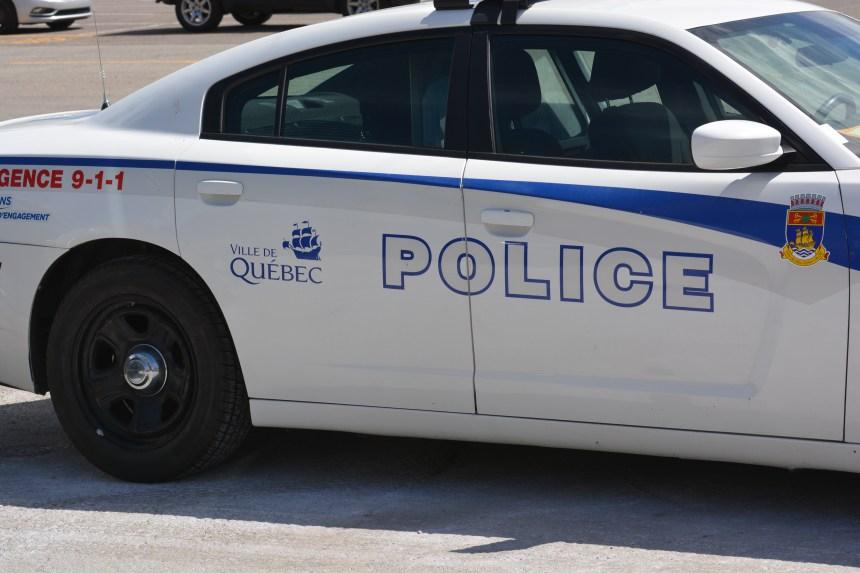 Un suspect sauvé et arrêté au parc de la Chute-Montmorency
