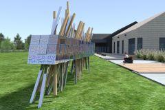 Œuvres ludiques pour trois installations récréatives de Québec