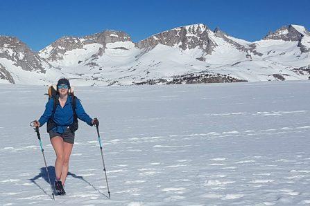 Marche solo de 4240 km – Alexandra Hémond forcée d'arrêter