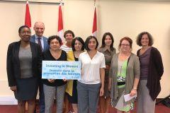 Appui fédéral aux organismes d'entraide des femmes à Québec
