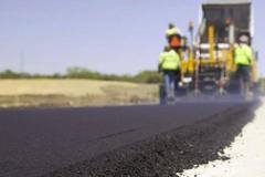 Nouvelle couche d'asphalte sur la route 138 à Saint-Augustin