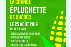 Grande épluchette festive à Québec