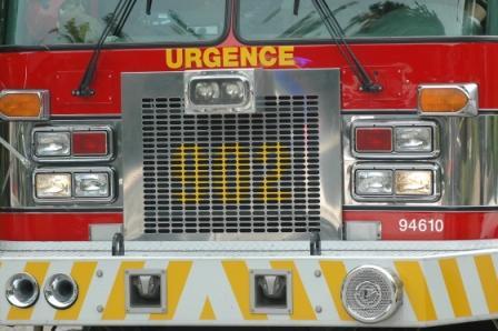 Chalet incendié à Stoneham: un corps retrouvé