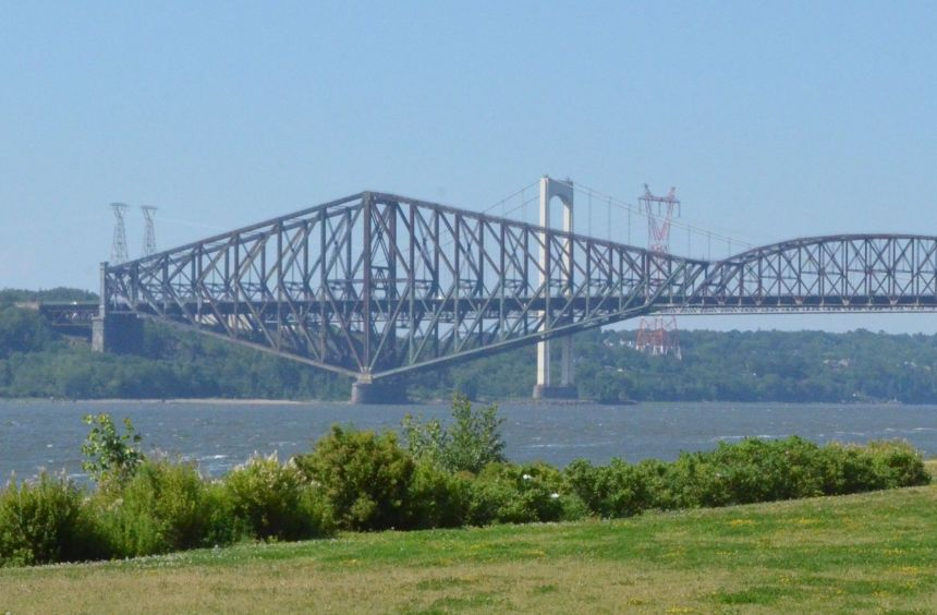 Solution envisagée pour le pont de Québec