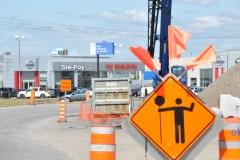 Pas facile pour les affaires dans le parc industriel Carillon à Québec