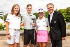 Le jeune golfeur Émile Journault se distingue au national