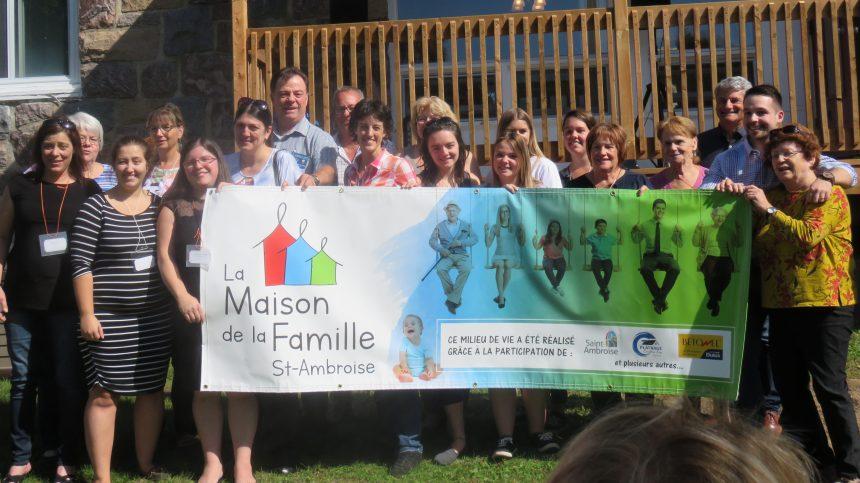 Réouverture de la Maison de la Famille Saint-Ambroise