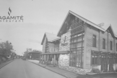 Restaurant Sagamité – Les travaux reprendront prochainement