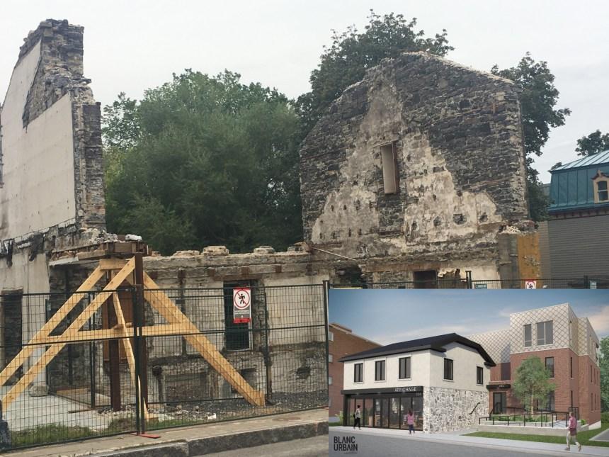 Le développement de l'avenue Royale continue: l'ancienne quincaillerie transformée en espace commercial