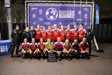 Royal de Beauport: les deux formations seniors remportent la Coupe du Québec