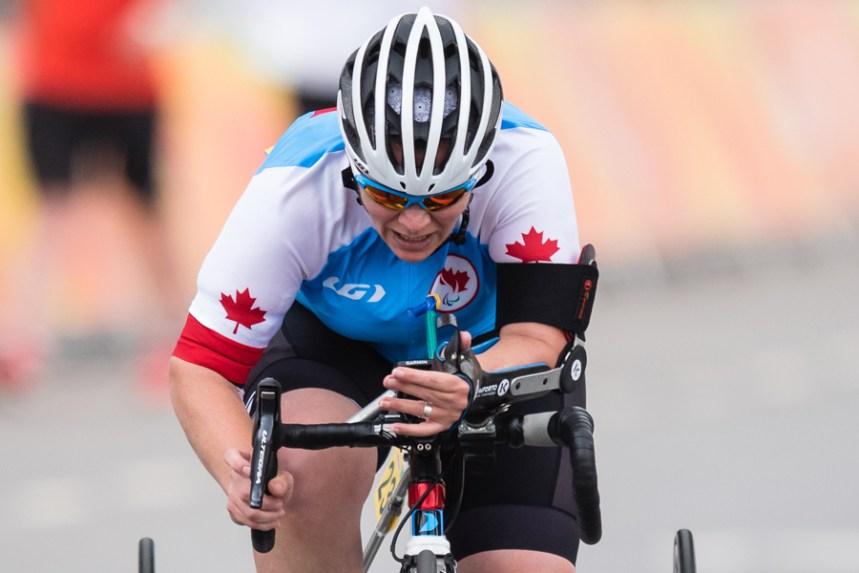 Paracyclisme: Marie-Ève Croteau de retour dans l'élite mondiale