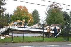 La Maison Pasquier démolie la nuit dernière