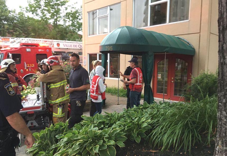 Début d'incendie dans une résidence pour aînés de Sainte-Foy