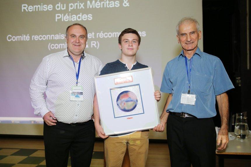 Renaud L. Lebrun remporte le prix d'astronomie Pléiades 2019