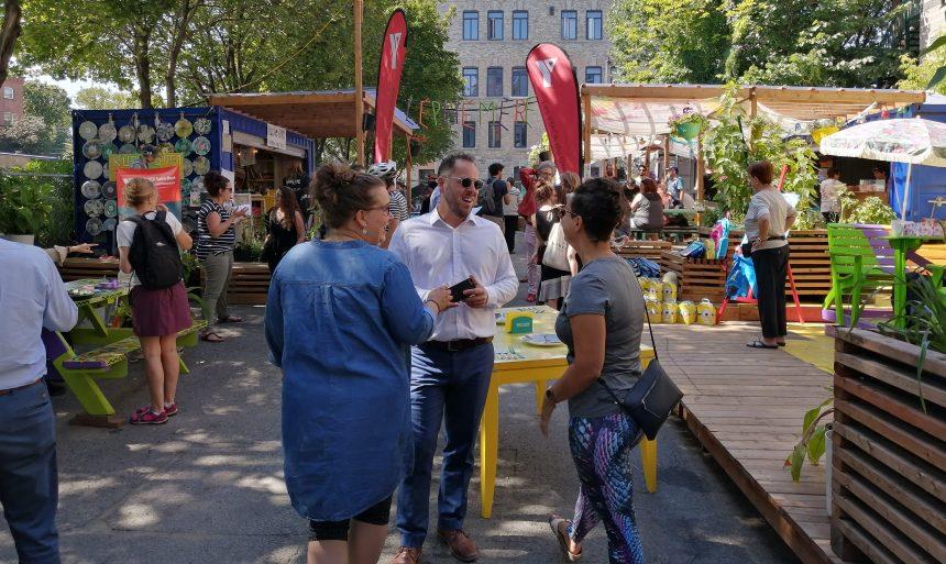 Du potager à l'assiette: un réseau solidaire pour St-Roch