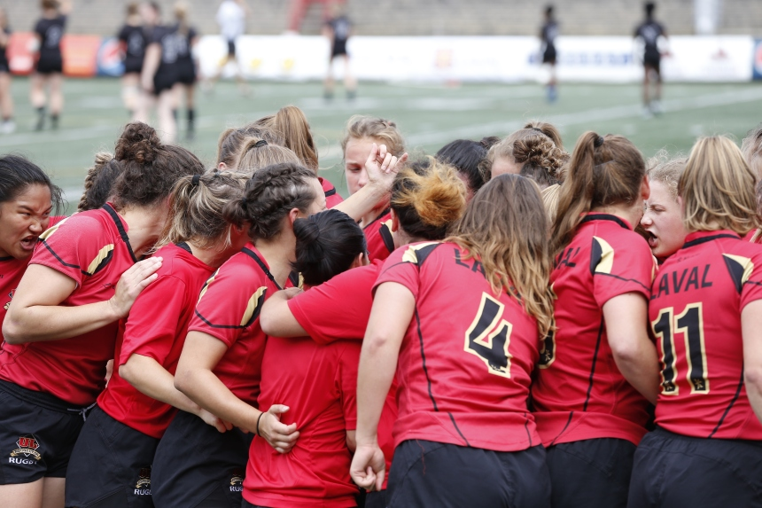 Rugby: le Rouge et Or l'emporte
