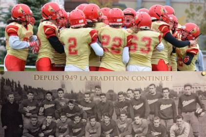 70e saison du programme de football des Alérions: une institution qui a forgé le football de la région de Québec
