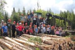 Des professeurs retournent à l'école en forêt
