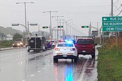 Opération de sécurité routière contre les distractions au volant: 42 constats d'infraction en 3 heures