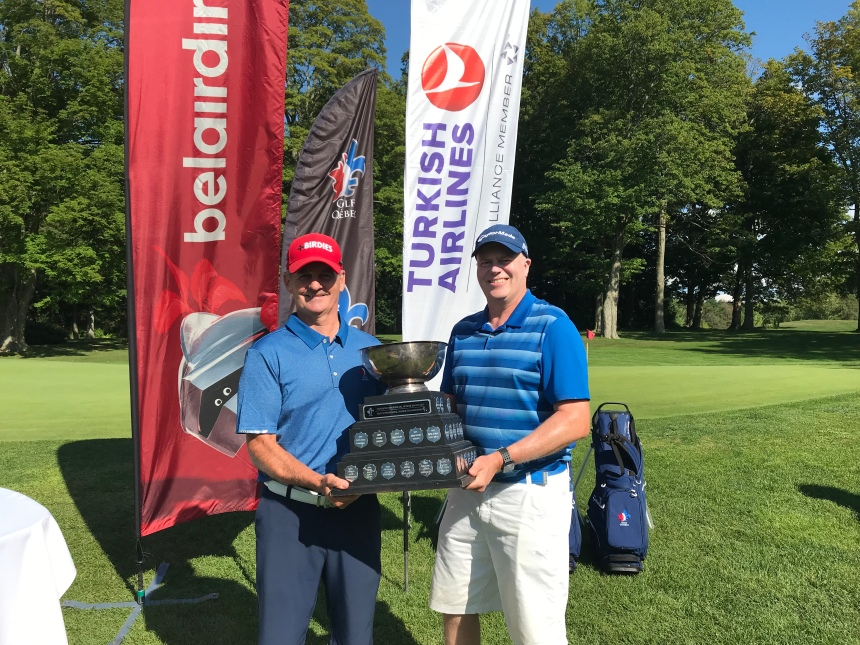 Un champion provincial senior local