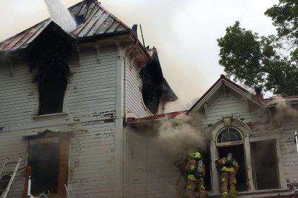 4e alarme incendie à la Villa Livernois