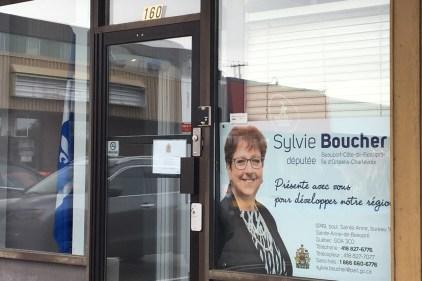 L'après-élections de Sylvie Boucher
