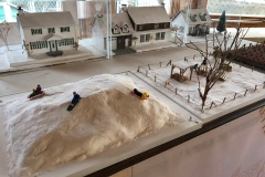 Les maisons ancestrales de la rue du Vignoble à découvrir en miniatures