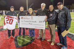 Du football en hommage à Bob Bissonnette
