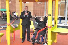 Nouvelle cour adaptée pour les protégés de l'école Madeleine-Bergeron