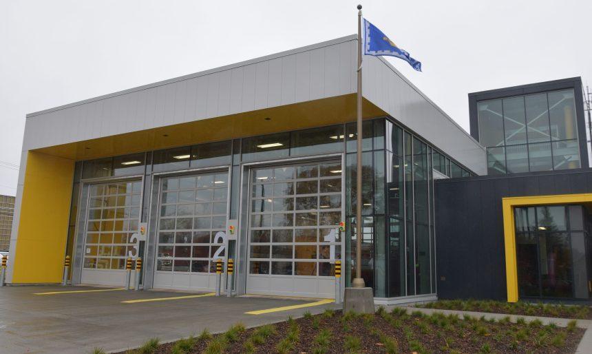 Service de protection contre l'incendie – La nouvelle caserne numéro 6 inaugurée