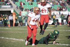 Football universitaire – Laval l'emporte contre Sherbrooke