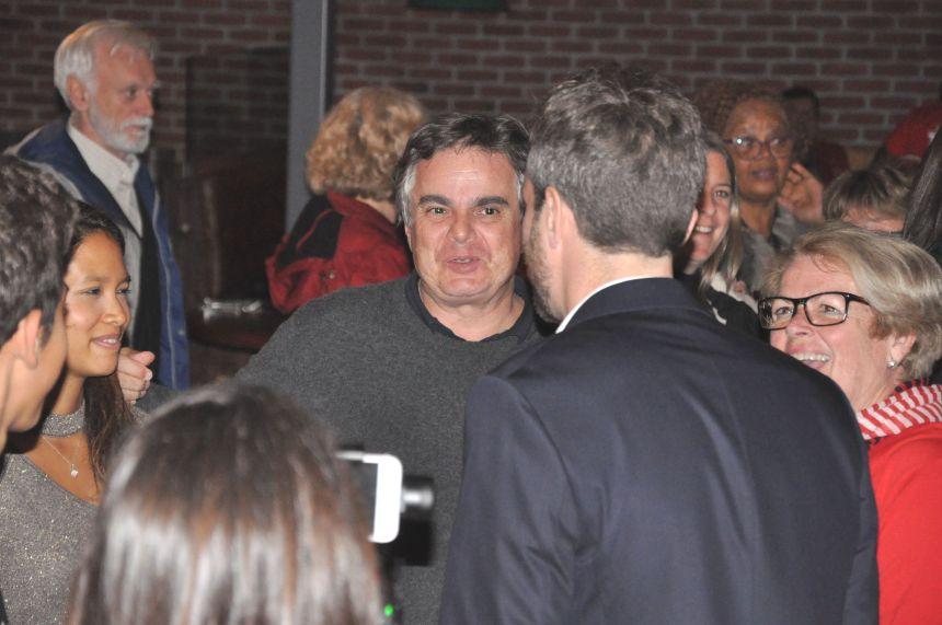 L'écrivain Alexandre Jardin en visite à Québec