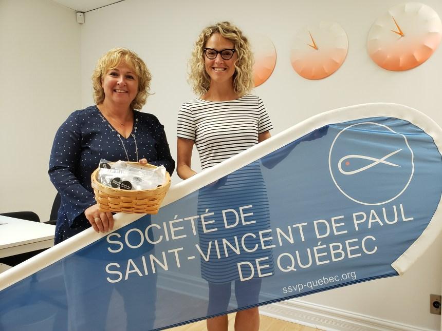 Madame Labriski collabore avec la Société de Saint-Vincent de Paul