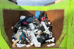 Plus de 14 tonnes d'électros désuets recyclées
