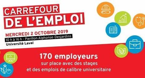 Record de 170 entreprises attendues au Carrefour de l'emploi universitaire