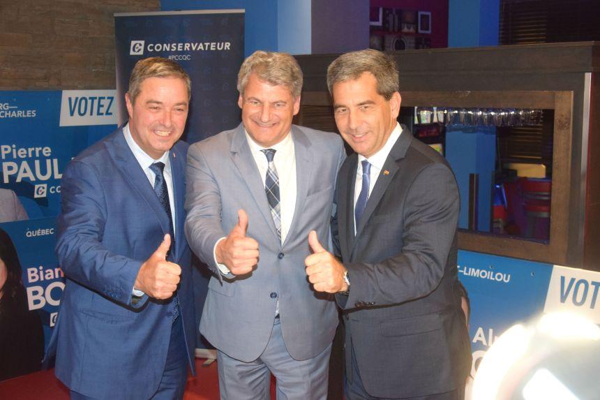 Succession d'Andrew Scheer – Gérard Deltell ne sera pas de la course