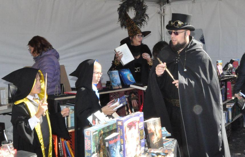 Québec envahie par les amateurs de sorcellerie
