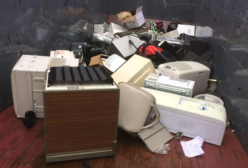 Collecte verte: se débarrasser proprement des vieux électros