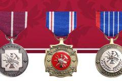 39 pompiers et civils honorés pour leur courage et dévouement