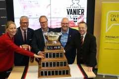 Des billets plus abordables pour la Coupe Vanier