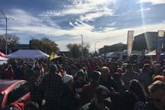 La fête est commencée au Stade Telus: le tailgate du Rouge et Or est un succès
